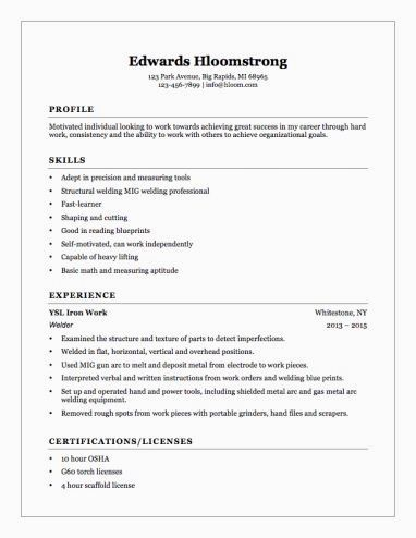 Resume Example With Headshot Photo Cover Letter 1 Page Word Resume Design Diy Cv Example Resume Examples Resume Tips No Experience Student Resume