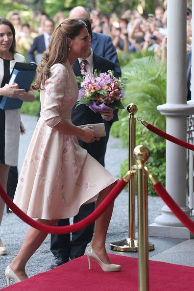 The Duke and Duchess of Cambridge Visit to Singpore - Day 1