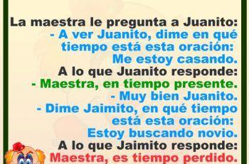 Jaimito Y La Maestra Chistes De Jaimito Chistes Humor Chistesbromasymas Www Chistesbromasymas Com Memes Humor Lambo