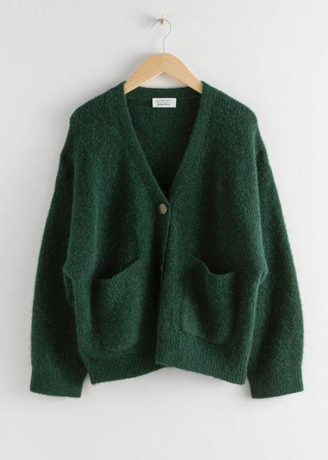 Alpaca Wool Blend Cardigan | & Other Stories#andotherstories#fashion#cardigan #wool