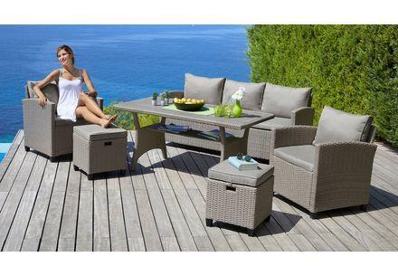 Konifera Loungeset Siros 12 Tlg 3 Er Sofa 2 Sessel Tisch 135x82 Cm Polyrattan Online Kaufen Otto In 2020 Gartenmobel Sets 3er Sofa Polyrattan