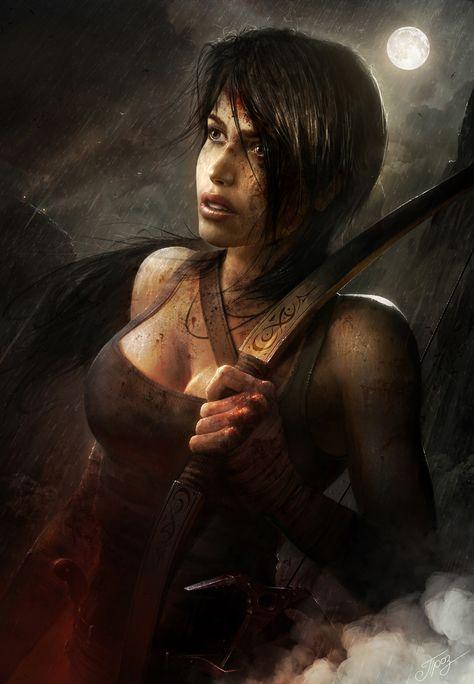 30+ Tomb Raider Reborn illustrations and Deviantart Contest