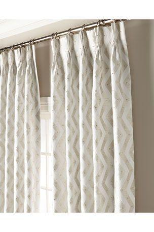 Hbvcb Misti Thomas Modern Luxuries Rosa 108 Curtain Panel In 2020