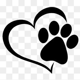 Love And Prints Love Clipart Cartoon Footprint Animal Footprint Png Transparent Clipart Image And Psd File For Free Download Animal Footprints Cat Footprint Prints
