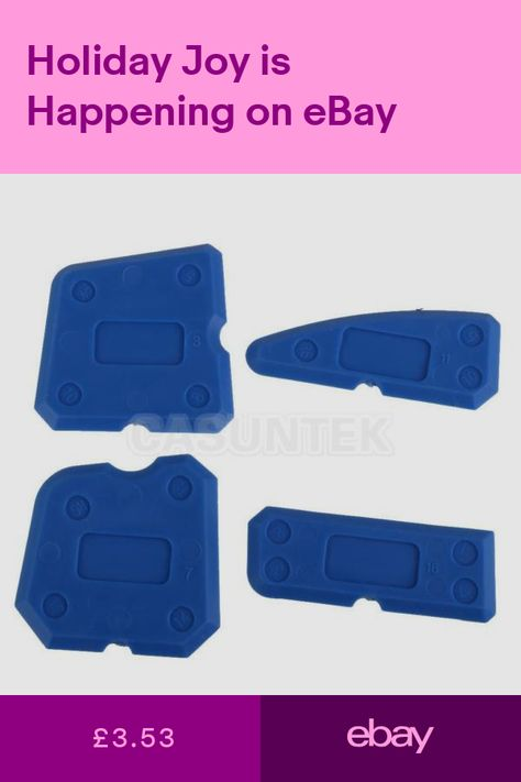Household Cleaning 4pcs Joint Sealant Silicone Grout Caulk Tool Set Remover Scraper Applicator Back To Search Resultshome & Garden