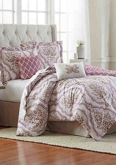 Modern Southern Home Tatum 6 Piece Comforter Bed In A Bag
