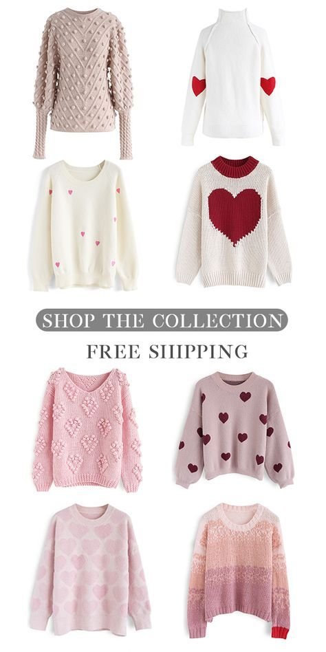 c5deb0f8d09ad Free Shipping & Easy Return. Up to 30% Off. Valentine's Day Sweater ...