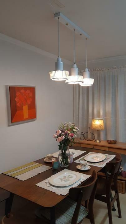 오페라a 3등 식탁조명 디자인 2020 식탁 조명 식탁 디자인 식탁 등