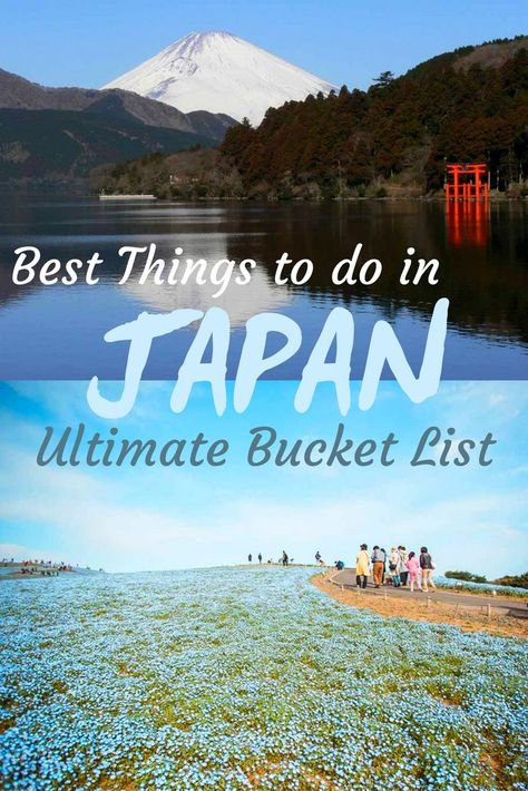 Discover 35+ best things to do in Japan that should be on your Bucketlist. From taking Samurai Lessons to watching a Kabuki Performance, visiting a traditional onsen, national parks and shrines and tasting delicious Japanese cuisine there is plenty to do and see in Japan.