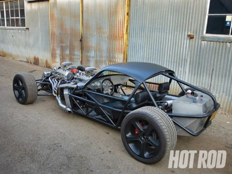 Custom Speed Buggy - Yannick Sire's Freaky Twin-Engine Hot Rod - Hot Rod Network