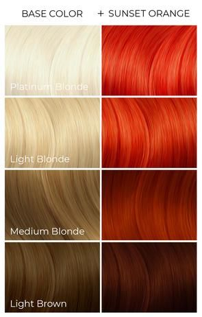 Sunset Orange Arctic Fox Dye For A Cause In 2020 Arctic Fox Hair Color Arctic Fox Hair Dye Fox Hair Dye