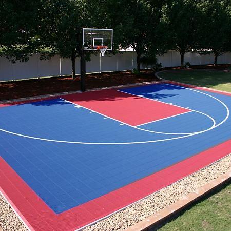 Small Court Diy Backyard Basketball System Sam S Club In 2021 Basketball Court Backyard Backyard Basketball Outdoor Basketball Court