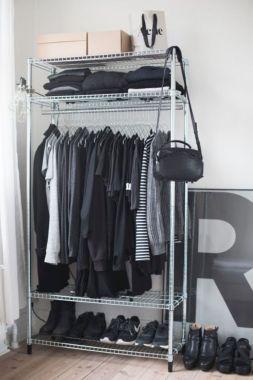 5 Stunning Bedroom Storage Ideas Open Closet Wardrobe Storage Closet Bedroom