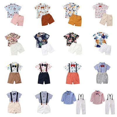 USA Toddler Kids Baby Boy Summer Shark Tops T-shirt Shorts Outfits Set Clothes