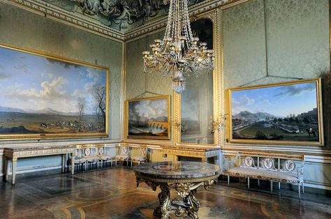 Living Room, Royal Palace, Caserta , Italy
