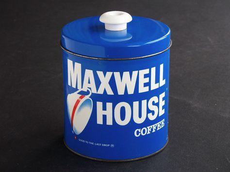 Vintage Jl Clark 1960s Maxwell House Coffee Advertising