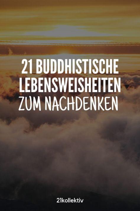 Buddhistische Lebensweisheiten für ein achtsameres Leben ❤️