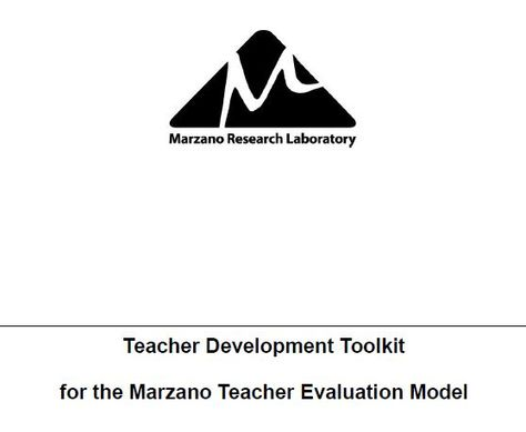 The Two Purposes of Teacher Evaluation by Robert J Marzano My - teacher evaluation