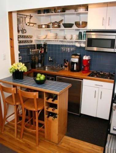 Diy House Furniture Small Spaces Living Rooms 56 Ideas Small Apartment Kitchen Decor Small Apartment Kitchen Small Kitchen Decor
