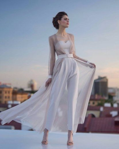 The Up And Coming Trend Bridal Jumpsuits Bridal Jumpsuit