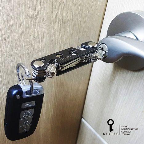 The Keytec Compact Key Organizer Just Like The America Kings Key