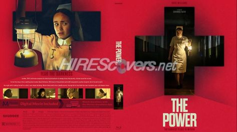 DVD Cover Custom DVD covers BluRay label movie art - Blu-ray CUSTOM Covers - P / Power, The (2021)