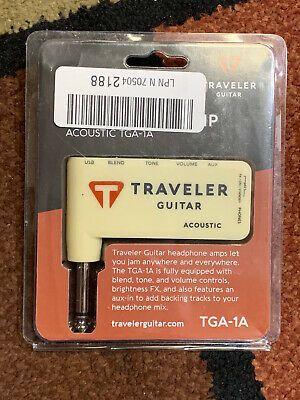 Traveler Guitar Acoustic Headphone Amp Tga 1a In 2020 Traveler Guitar Acoustic Guitar Headphone Amp