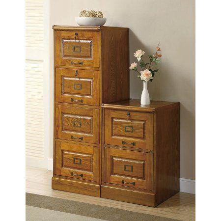 Coaster Furniture Warm Honey Locking 2 Drawer File Cabinet Walmart Com Coaster Furniture Filing Cabinet White Bathroom Furniture