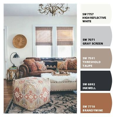 Fun Color Palette For Your Boho Style Boho Color Fun Palette Style Boho Living Room Modern Boho Living Room Boho Living