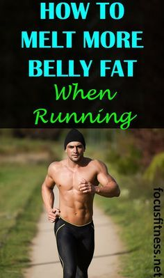 Does running burn fat in stomach