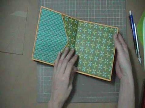 Scrapbook Tutorial - JAnnBDesigns Envelope Mini Album, Video 2 of 5