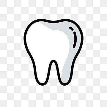 Dibujo Libre De Dientes Blancos Imagenes Predisenadas De Diente Diente De Dibujos Animados Icono De Diente Png Y Vector Para Descargar Gratis Pngtree In 2021 Tooth Clipart Logo Design Free