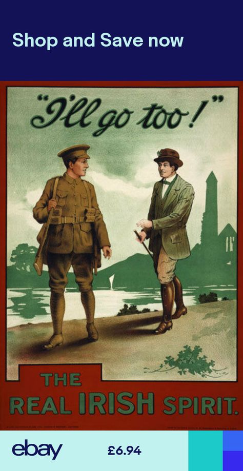 W49 Vintage WWI For King /& Country British Recruitment Poster WW1 A1 A2 A3