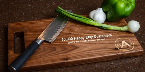 50,000 Happy Etsy Customers – Interview With Mike Crowder From MRC Wood Products