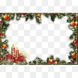 Christmas Border Design Png.Clipart Download Material Christmas Border Transparent