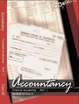 Financial Accounting 1 Class 11 Accountancy NCERT Book