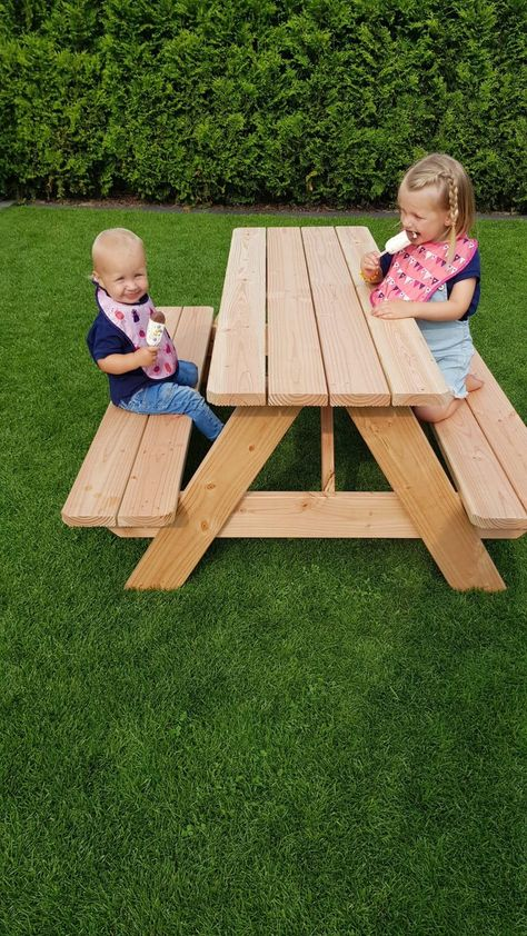 Kinderpicknicktisch 1 Kindertisch Garten Kinder Garten Und