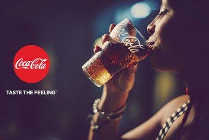 Publicidad Coca Cola Siente El Sabor Pin En Carteles Vintage