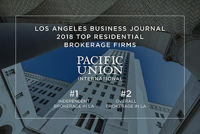 Los Angeles Business Journal Ranks Pacific Union No 1 Independent Brokerage Https Blog Pacificunion Com Los Angeles Bu Pacific Union Business Journal Union