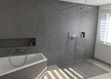 Das Set Zum Selber Machen Beinhaltet 1kg Carameo No 61 250ml Resin 100ml Grundierung 100g Carameo Steinseife An Fugenloses Bad Badezimmer Badezimmer Dekor
