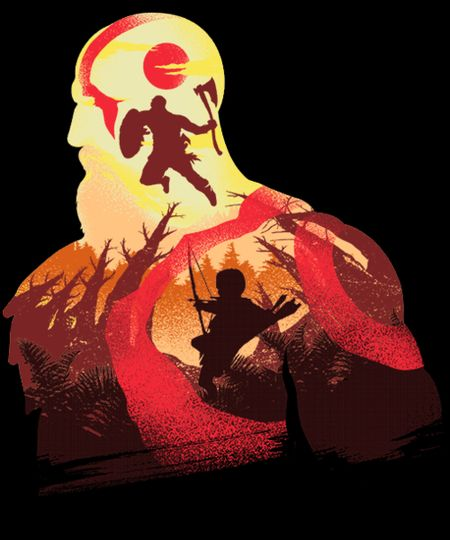 Father And Son By Chrisdalida God Of War Kratos God Of