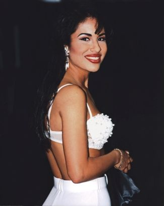 Selena Quintanilla-Pérez. A beautiful Hispanic woman, she doesn't need to be anything else.                                                                                                                                                      More
