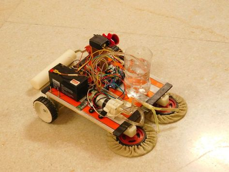 autonomous vacuum cleaner project