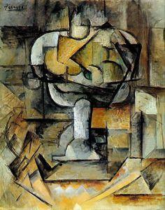 Pablo Picasso. The fruit bowl. 1920