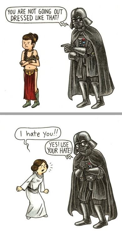 Parenting, Darth Vader style