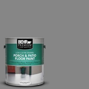 Behr Premium 1 Gal Gg 16 Baltic Stone Decorative Flat Interior Exterior Concrete Floor Coating 65501 Patio Flooring Painted Floors Porch And Patio Paint