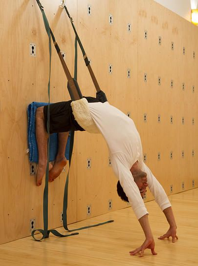 Yoga Wall Workshop … | YOGA | Yoga, Wall yoga, Yoga rope