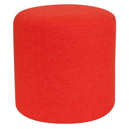 Cool Flash Furniture Barrington Upholstered Round Ottoman Pouf In Creativecarmelina Interior Chair Design Creativecarmelinacom