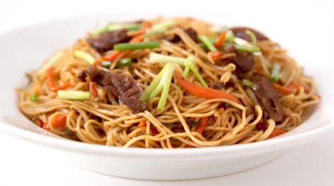 La Cuisine De Bernard Nouilles Sautees Chinoises Aux Legumes Et