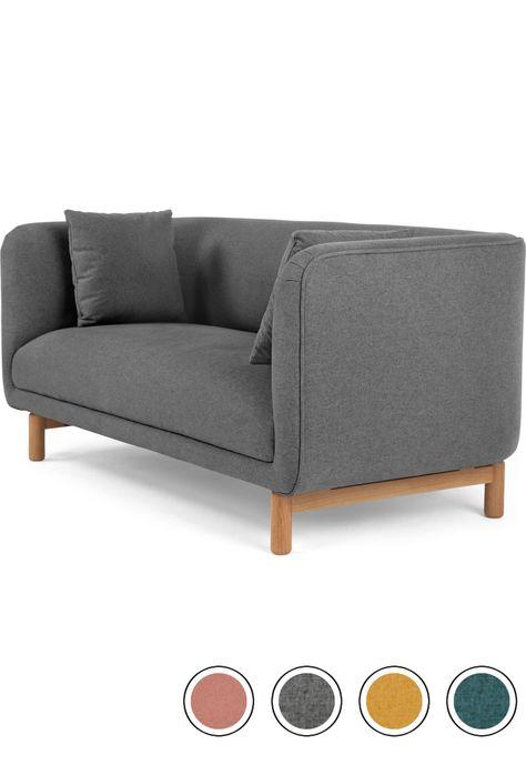 Made Marl Grey Sofa 2 Seater